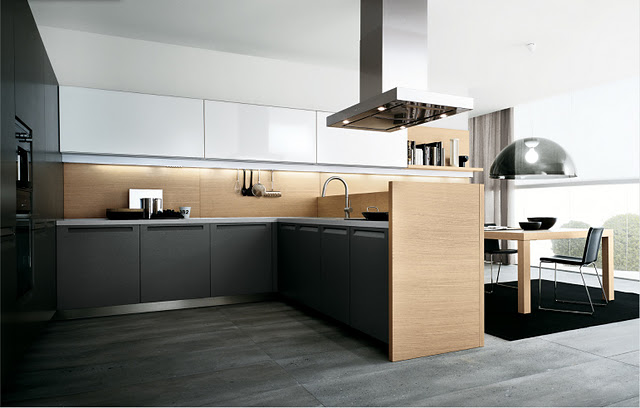 Minimal Mutfak Tasarımları 2012 minimal mutfaklar dekorasyonu ...