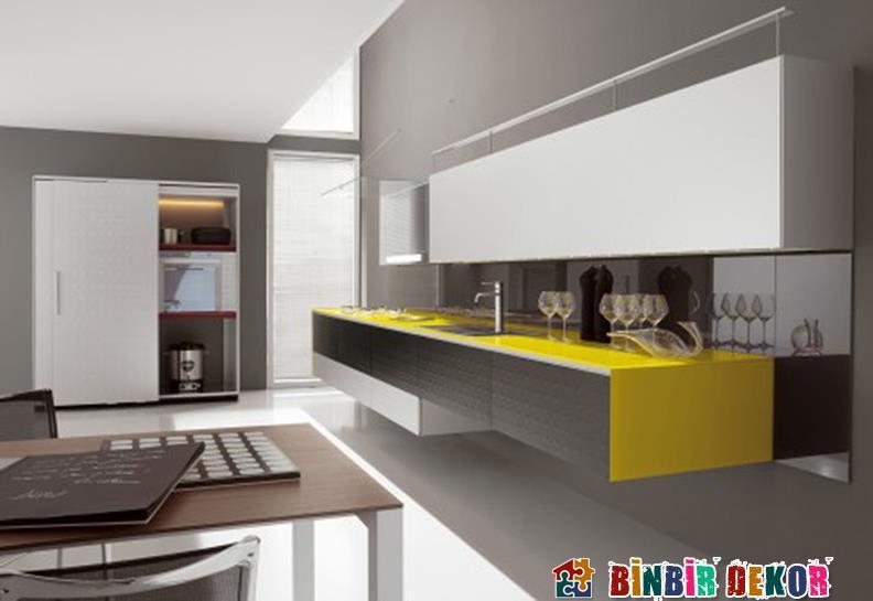 Minimalist Mutfak Dolabı ve Dekorasyon Örnekleri › Binbir Dekor