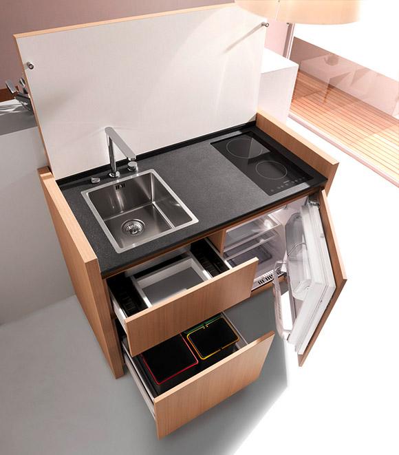 mini-mutfak-modelleri - Kadın ve Hayat
