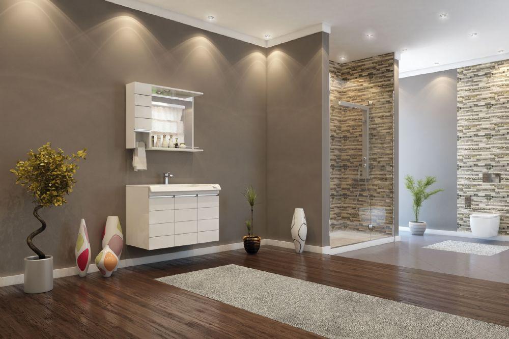 Modern Banyo Dolapları Modelleri 2016