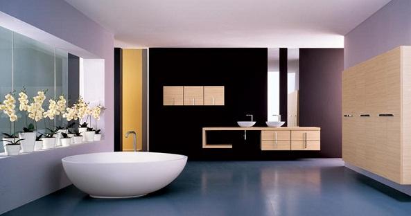 Modern Banyo Modelleri - Ev Dekorasyonu ve Mobilya Rehberi ...