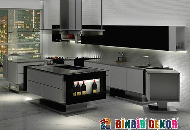 Modern Mutfak Dekorasyon Fikirleri Minimalist Mutfak ...