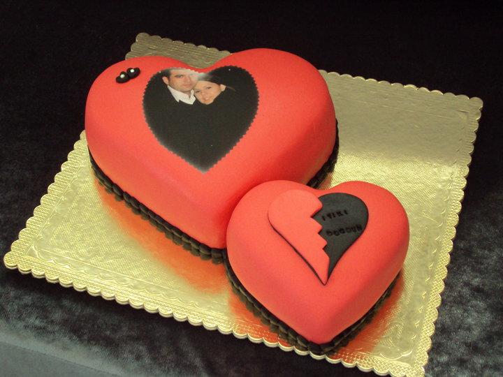 Sevgililer Gününe Özel Yapabileceğiniz Pasta Modelleri
