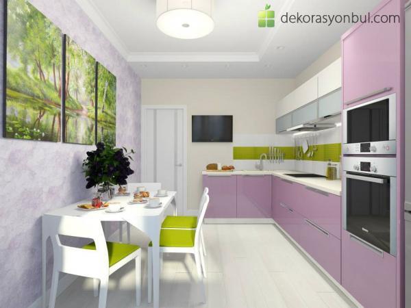 Yeni Mutfak Dekorasyonu Modelleri - Dekorasyon Bul