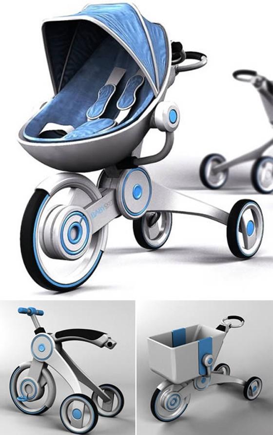 En İlginç 12 Tane Bebek Arabası