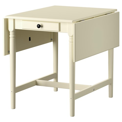 INGATORP katlanabilir yemek masası beyaz 59/89/119x78 cm ...