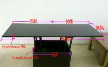 katlanır tasarım yemek masası B12-Ahşap Masalar-ürün Kimliği ...