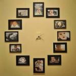 Çerçevelerle Dekoratif Duvar Saati Yapımı - Nevbahar