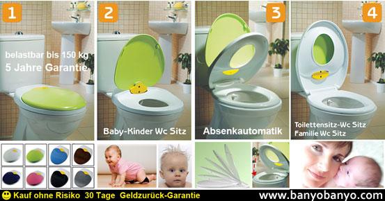 Çocuk Adaptörlü Klozet Kapağı | Banyo | Banyo Aksesuarları ve ...