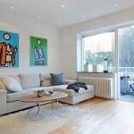 Modern Küçük Ev Dekorasyon Örnekleri