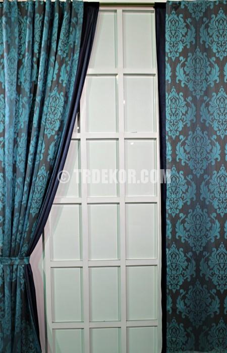 Sıradışı Modern Turkuaz Perde Resimleri | Dekorasyon ...
