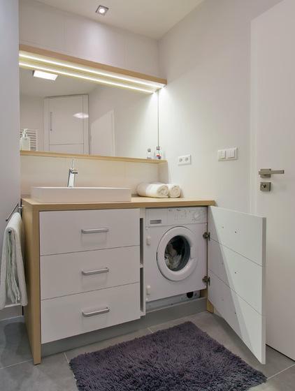 2018 Banyo Dolapları Çamaşır Makineli