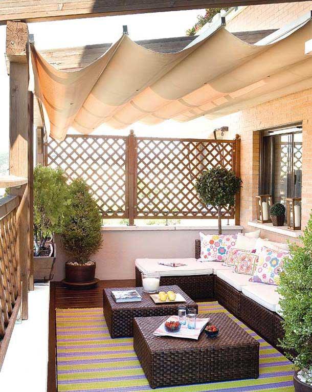 25 Teras ve Balkon Dekorasyonu | DDekor-Dekorasyon Fikirleri
