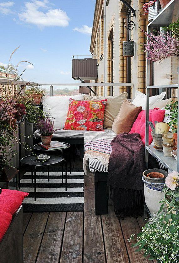 Balkon Dekorasyon Fikirleri | En Güzel Evler