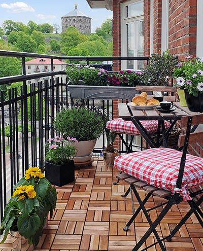 Balkon Dekorasyon örnekleri | Dekorasyon Mobilya Modelleri