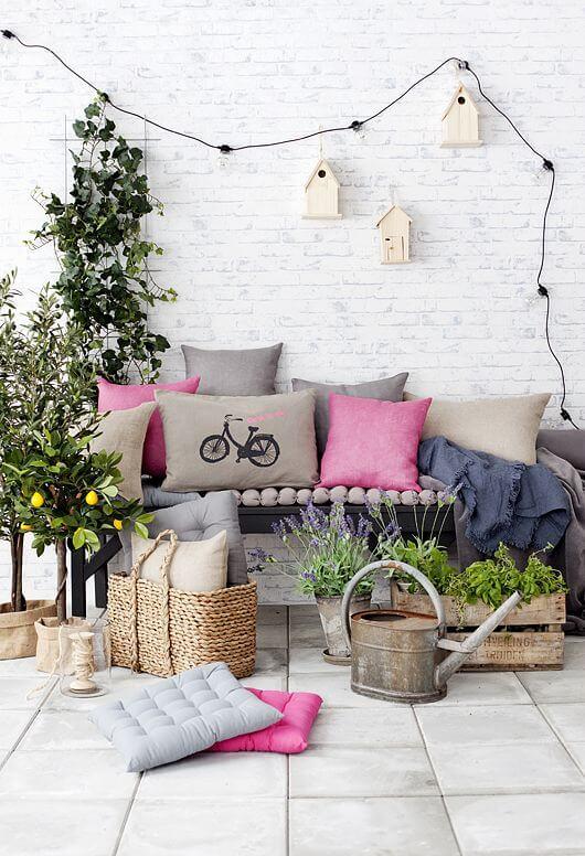 Balkon Dekorasyonu İçin Harika Fikirler | Ev Dekorasyon ...