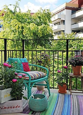 Balkonlar için 30 dekorasyon önerisi - Pudra