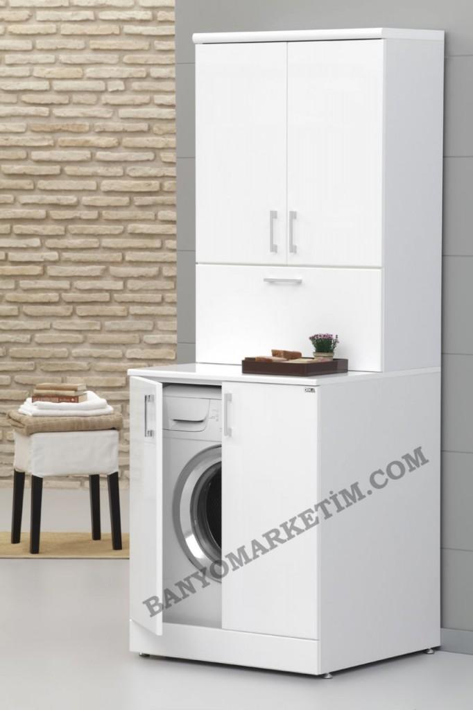 Banyo Dolapları Çamaşır Makineli 2017