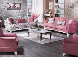 gül kurusu country koltuk takımı örnekleri | Dekorstili.com