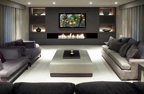 Modern Salon Dekorasyon Örnekleri - ev dekorasyonu dizaynı ...