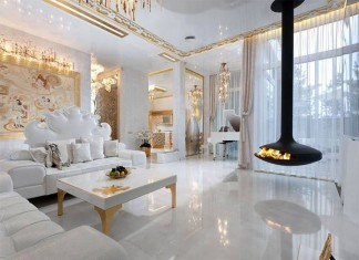 Modern salon dekorasyonu örnekleri - Ev dekorasyonu modasını ...