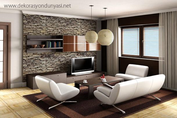 Salon Dekorasyon Modelleri - Dekorasyon Dünyası