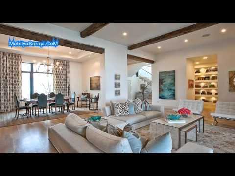 Yeni romantik ev dekorasyon örnekleri 2015 - YouTube