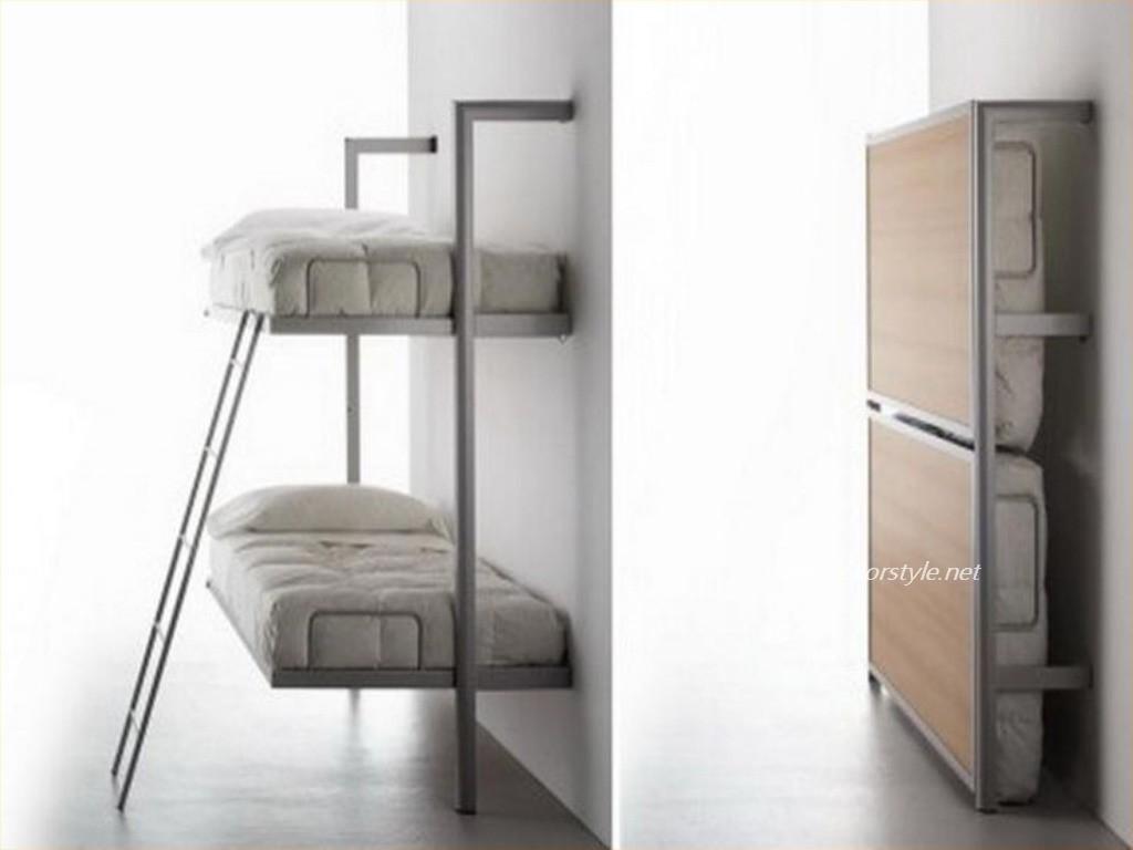 Çok Kullanışlı Duvar Tipi Yatak Modelleri 2016 | Dekorstyle