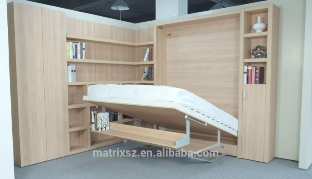 Duvar yatak mekanizması, katlanır duvar yatağı, duvara monte ...