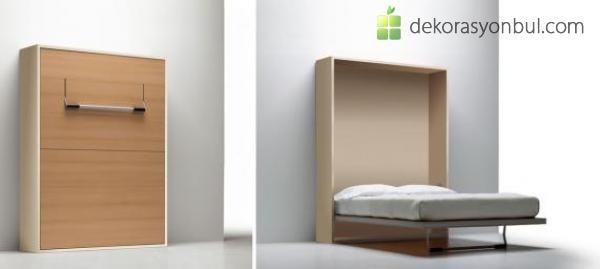 Duvara Katlanır Yatak Modelleri - Dekorasyon Bul