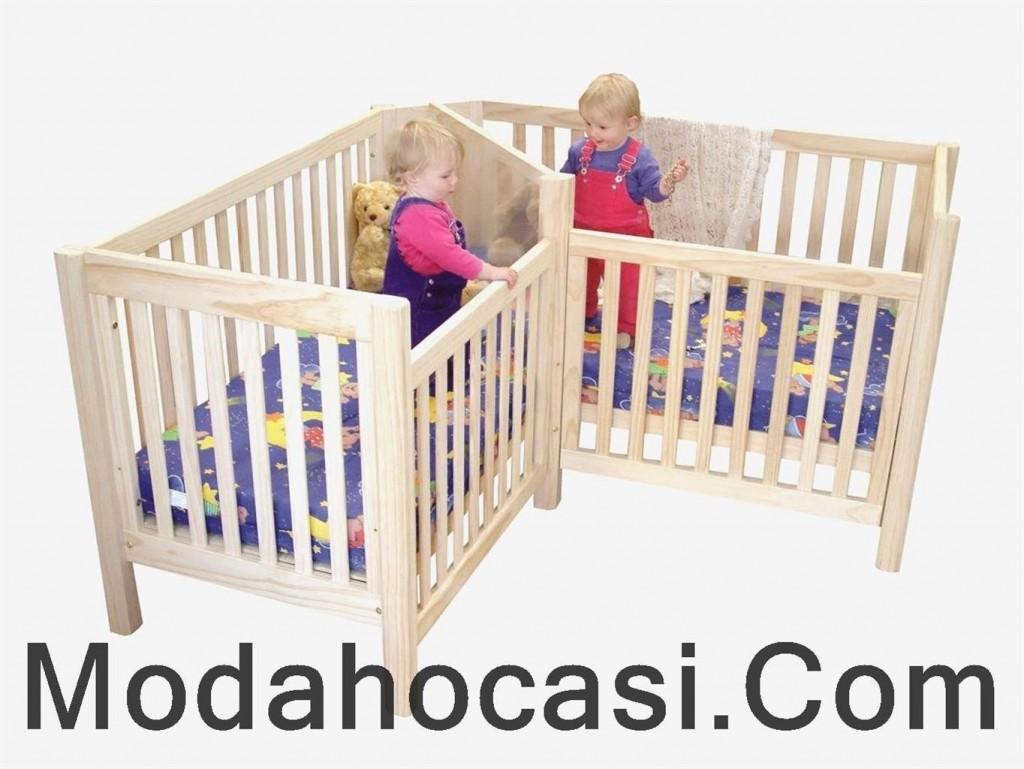 İkiz Bebek Yatak Odası Modelleri   Bebek Odası Modelleri