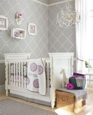 Kız Bebek Odası Dekorasyonu   Ev Dekorasyon Fikirleri ve Moda ...
