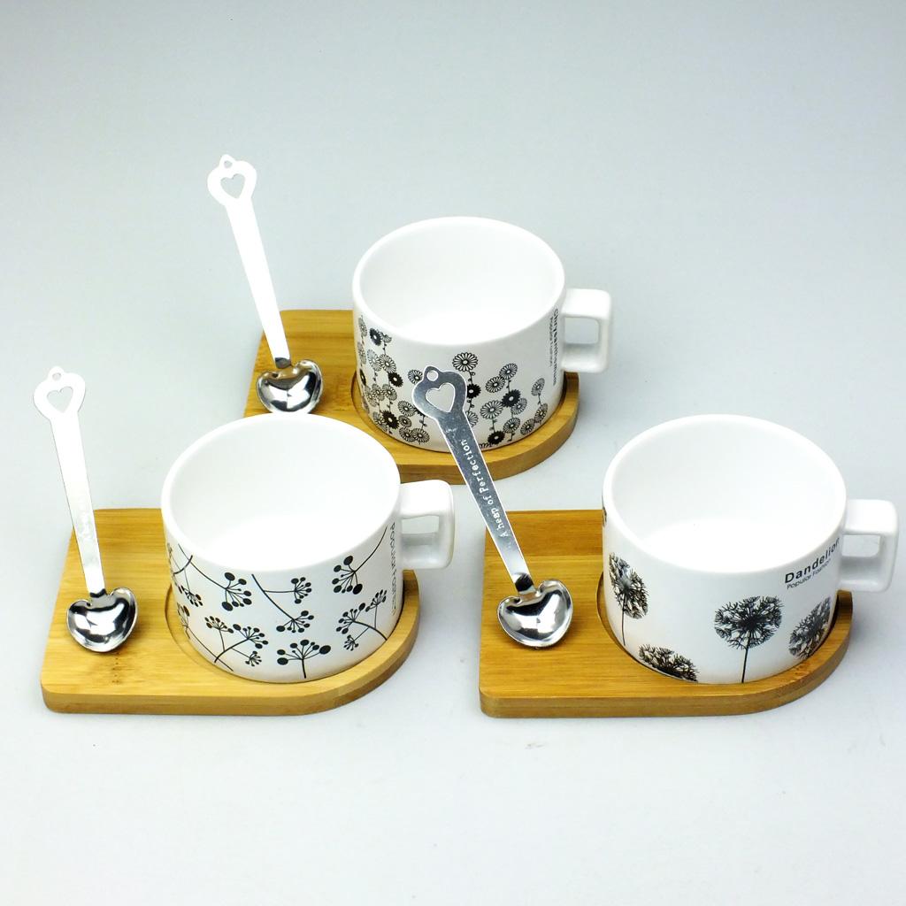 Mıknatıs Standlı Kaşıklı Kahve Fincanı - 16,9 TL