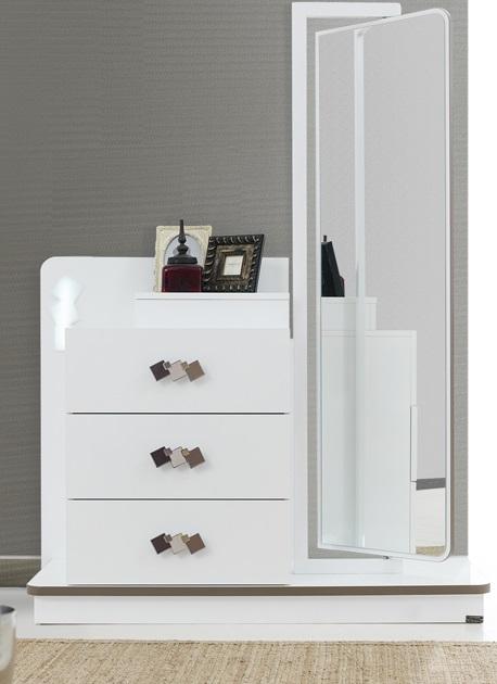 Boy Aynalı Şifonyer Modelleri | Mobilya Odaları