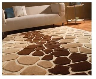 Kahverengi tonlarda Kaşmir halı modeli – Dekorasyon, Ev ...