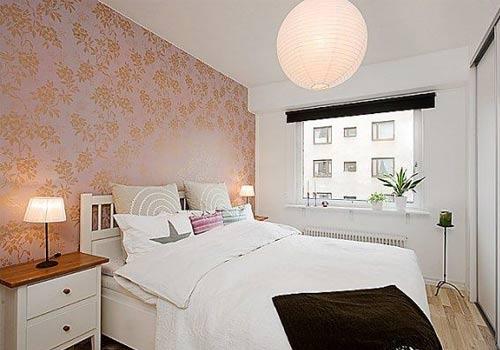 Yatak Odasında Duvar Kağıdı | Yapı Dekorasyon 360