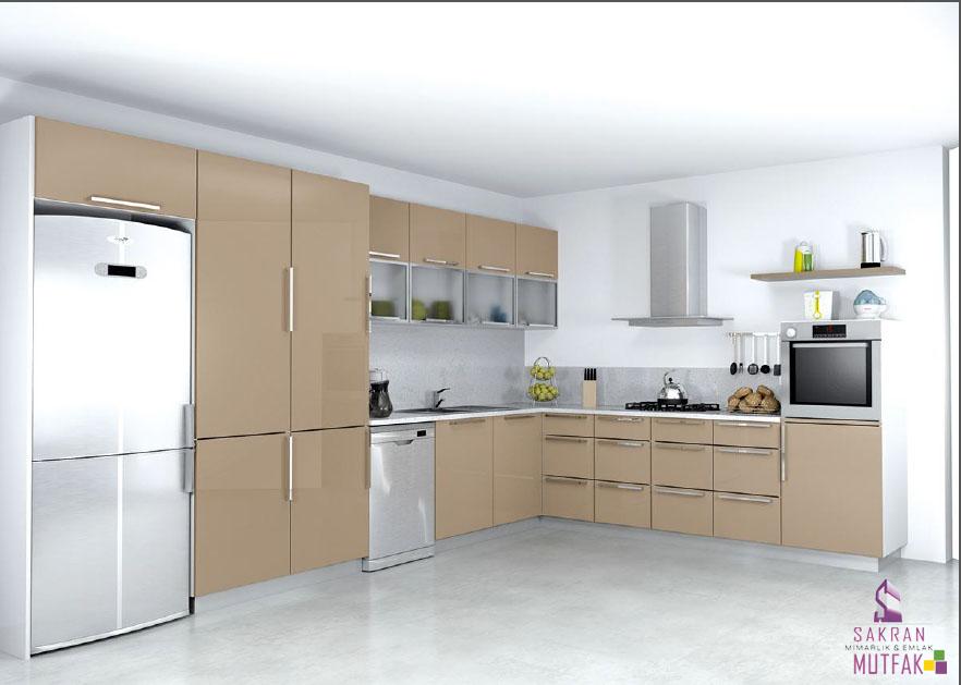 3148 Cappucino Hazır Mutfak Dolapları ve Modern Mutfak Modelleri