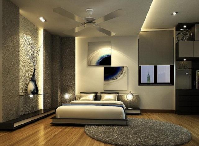 Gri Beyaz Yatak Odası Dekorasyon Örnekleri | Dekorstyle