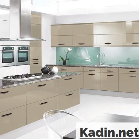 Kapuçino Rengi Mutfaklar Sizi Büyüleyecek | Kadin.net