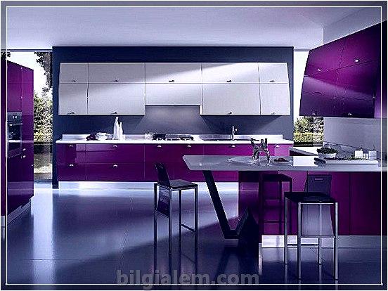 Bilgi | » Amerikan Mutfak Tasarım Modelleri
