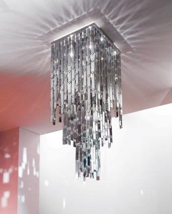 çok şık metal detayşı modern aydınlatma modeli