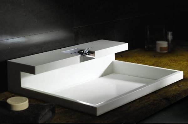 Modern Beyaz Lavabo Modelleri 2014-2015 | DekorStore © 2016