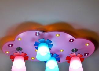 Modern Kız Çocuk Odası Aydınlatması | SecretHome