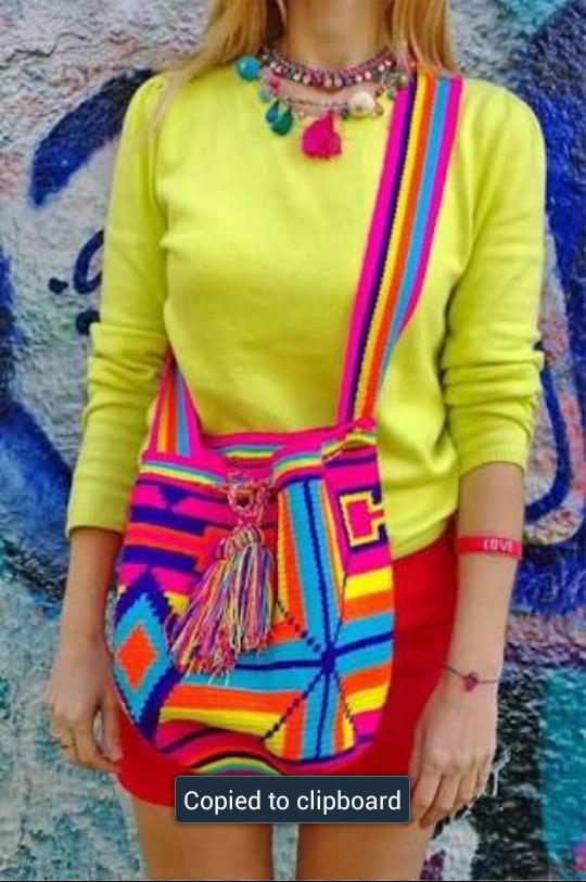 ReybiRey: Wayuu Mochila Bag (Wayuu Bag-Kilim Desenleri)