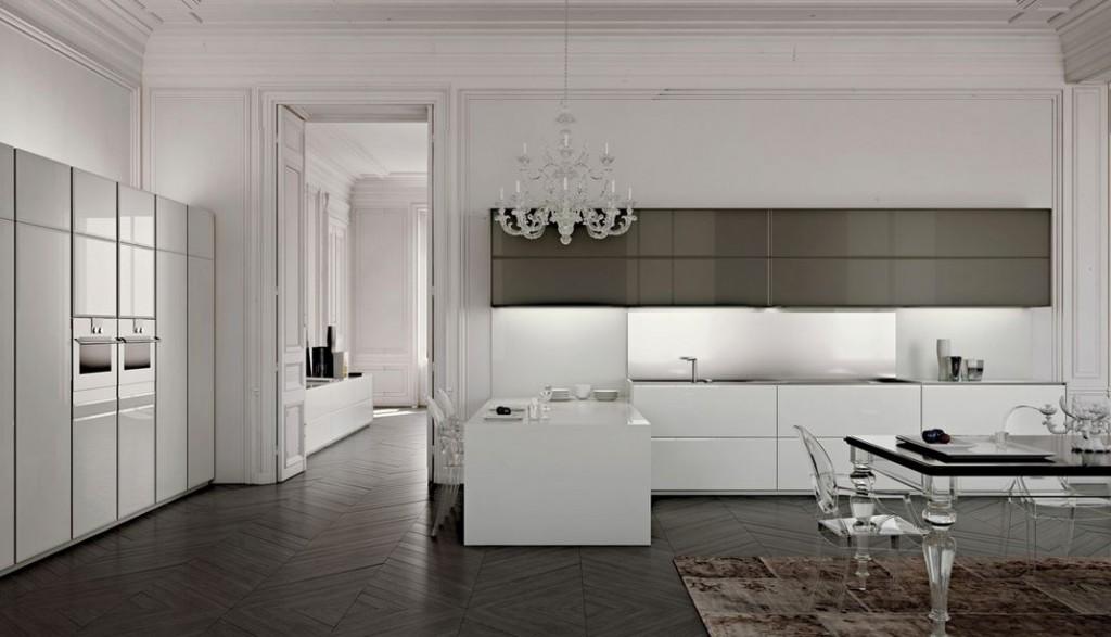 beyaz italyan mutfak modelleri 2015 2016 - Pembedekor