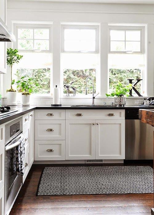 Siyah Beyaz Mutfak Dekorasyonu | Yapı Dekorasyon 360