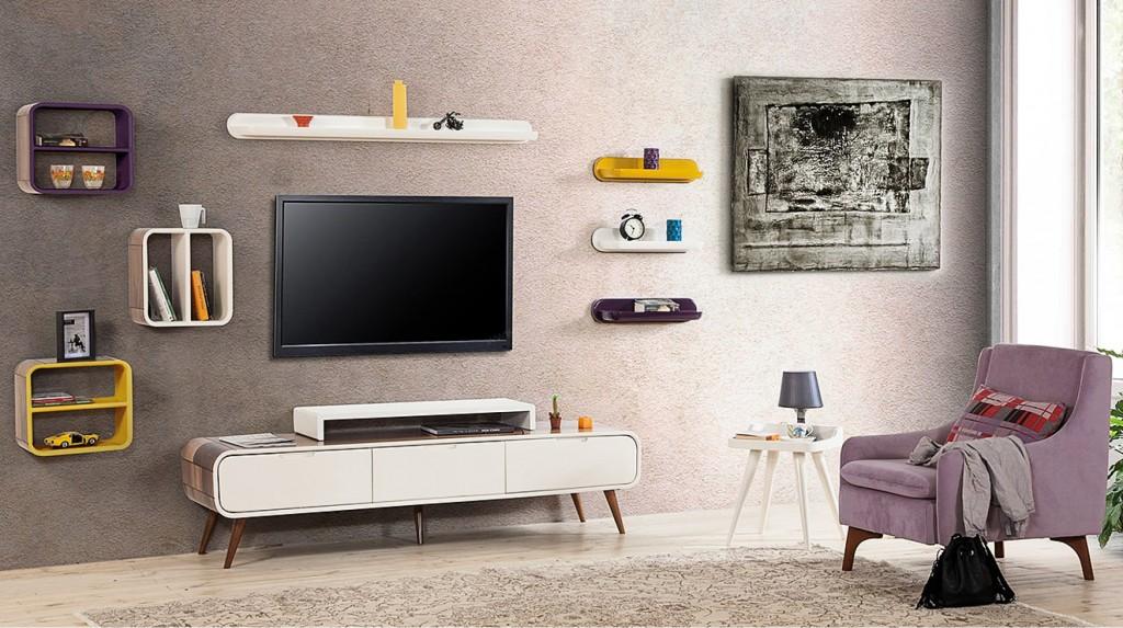 Tv Üniteleri - Duvar Ünitesi Modelleri - Berke Mobilya