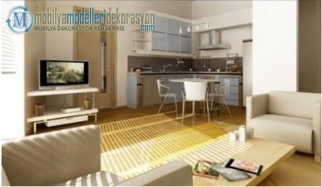 Studyo Daire Dekorasyon Fikirleri | Mobilya ve Ev Dekorasyonu ...
