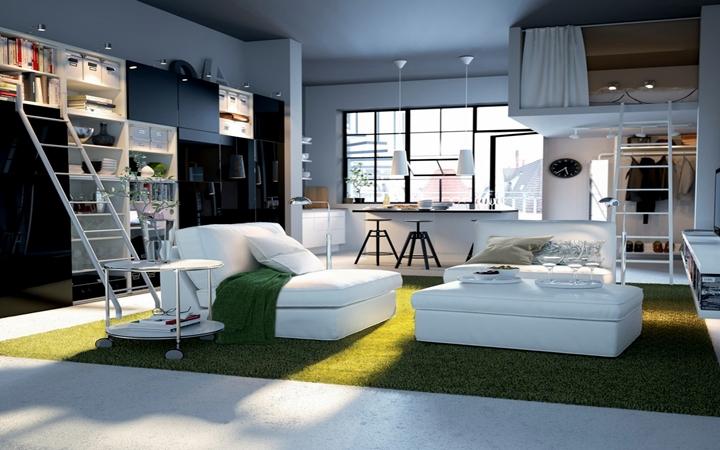 Stüdyo Daire Dekorasyon Önerileri | Hobisiolan