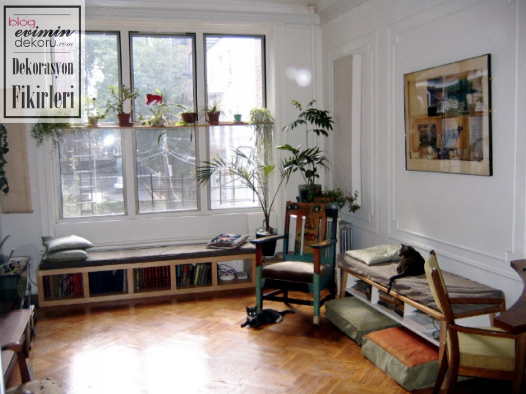 Stüdyo Daire Dekorasyonu | Aydınlatma Dekorasyon Tasarım Ev ...